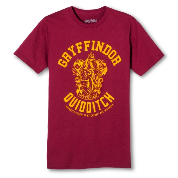a717a228 Harry Potter Tops | Gryffindor Tee Shirt New Nwot | Poshmark